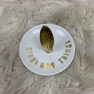 Rings and things jewelry dish